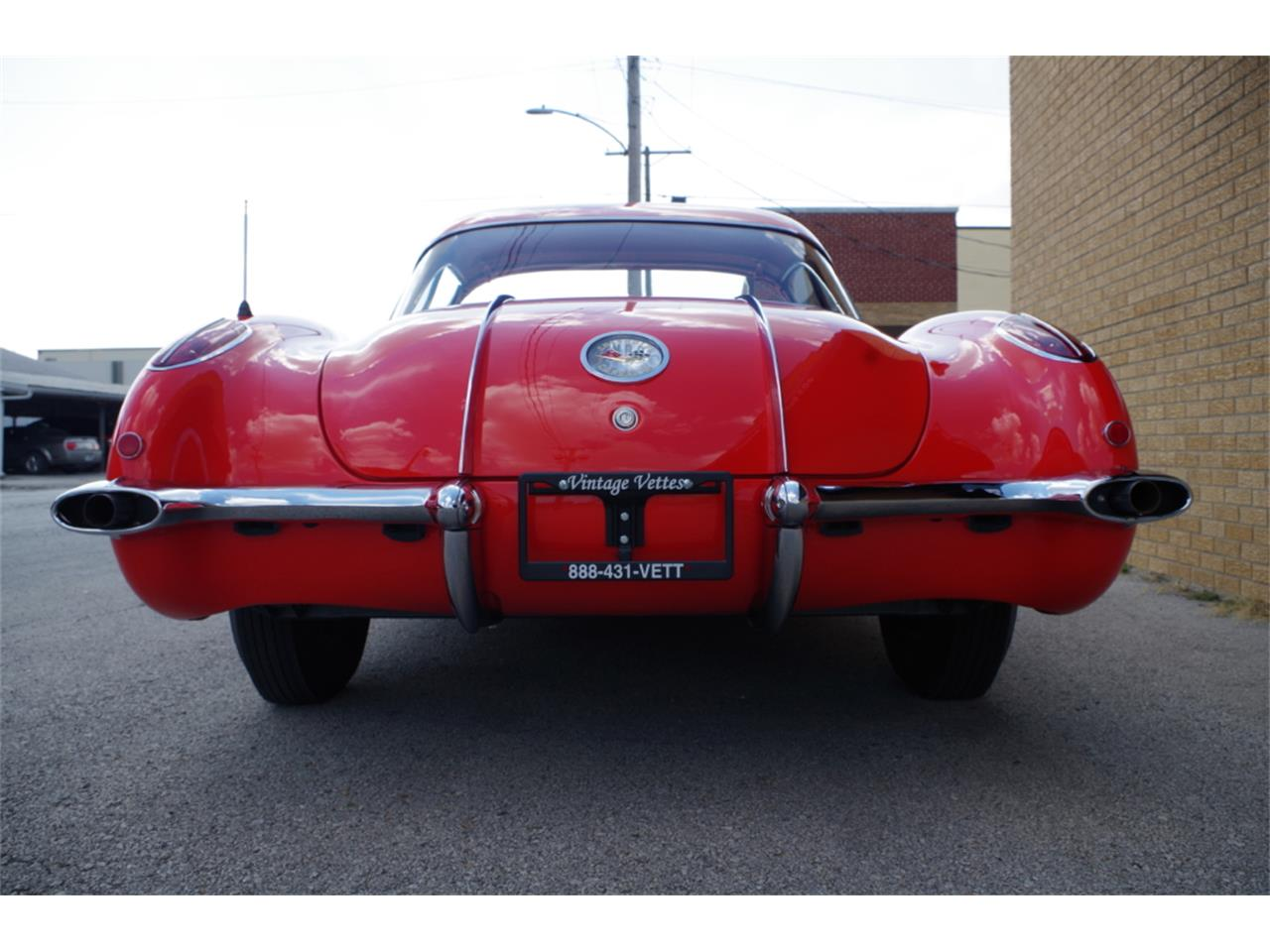 Large Picture of Classic '58 Chevrolet Corvette located in N. Kansas City Missouri - $139,900.00 - R23F