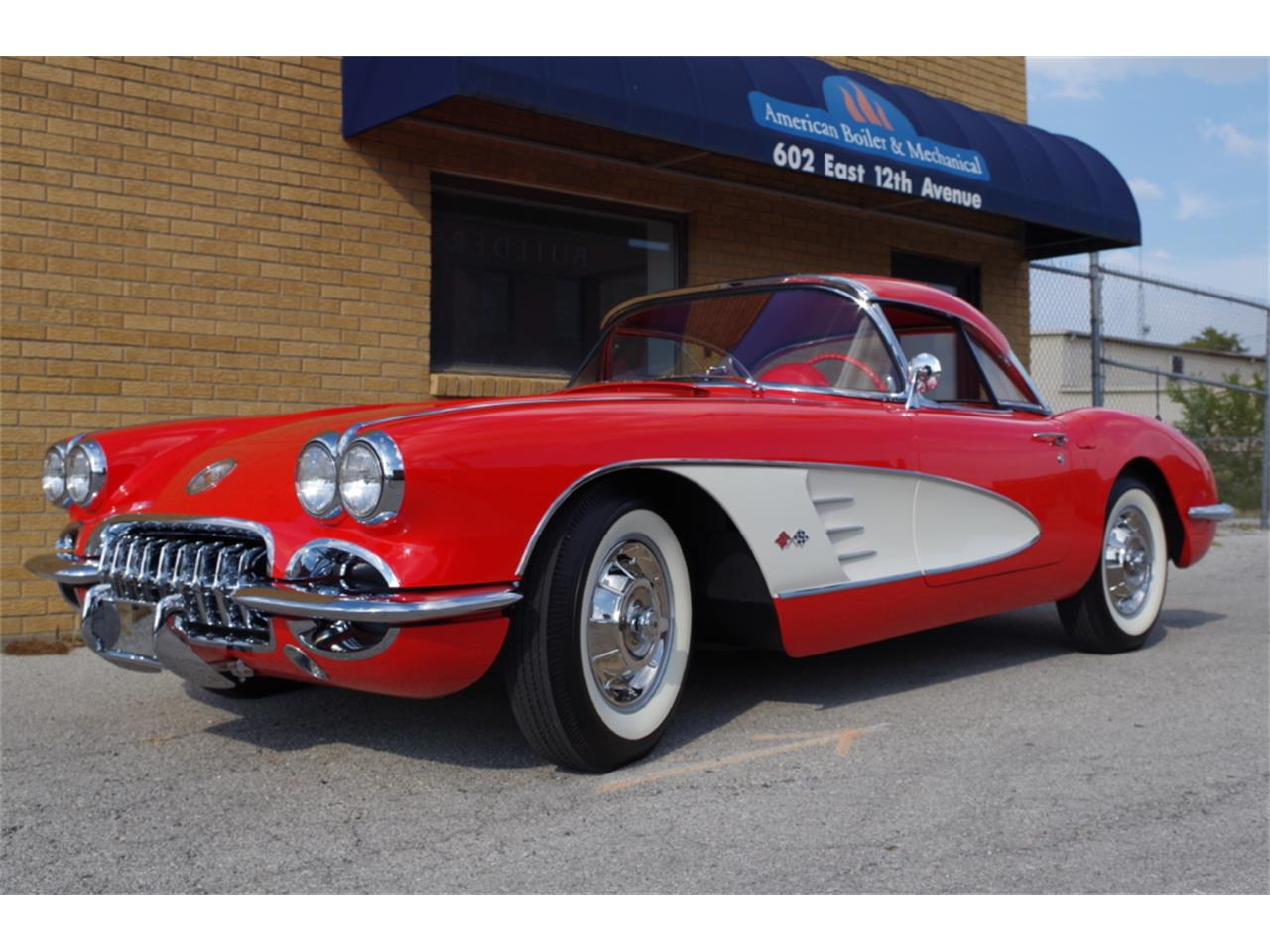 Large Picture of Classic 1958 Chevrolet Corvette located in N. Kansas City Missouri Offered by Vintage Vettes, LLC - R23F