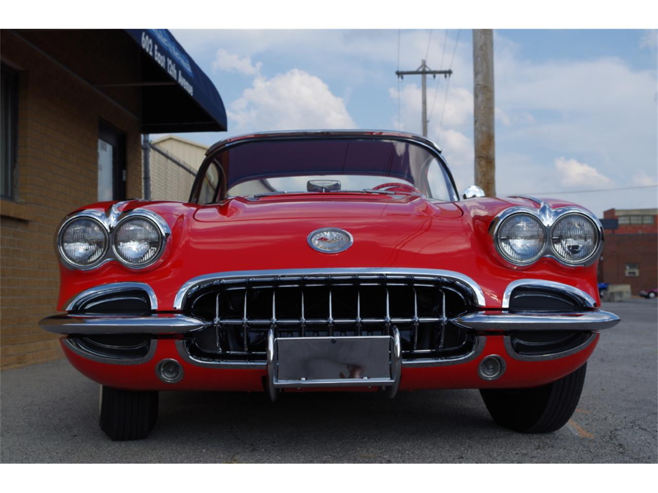 Large Picture of Classic 1958 Chevrolet Corvette located in N. Kansas City Missouri - R23F