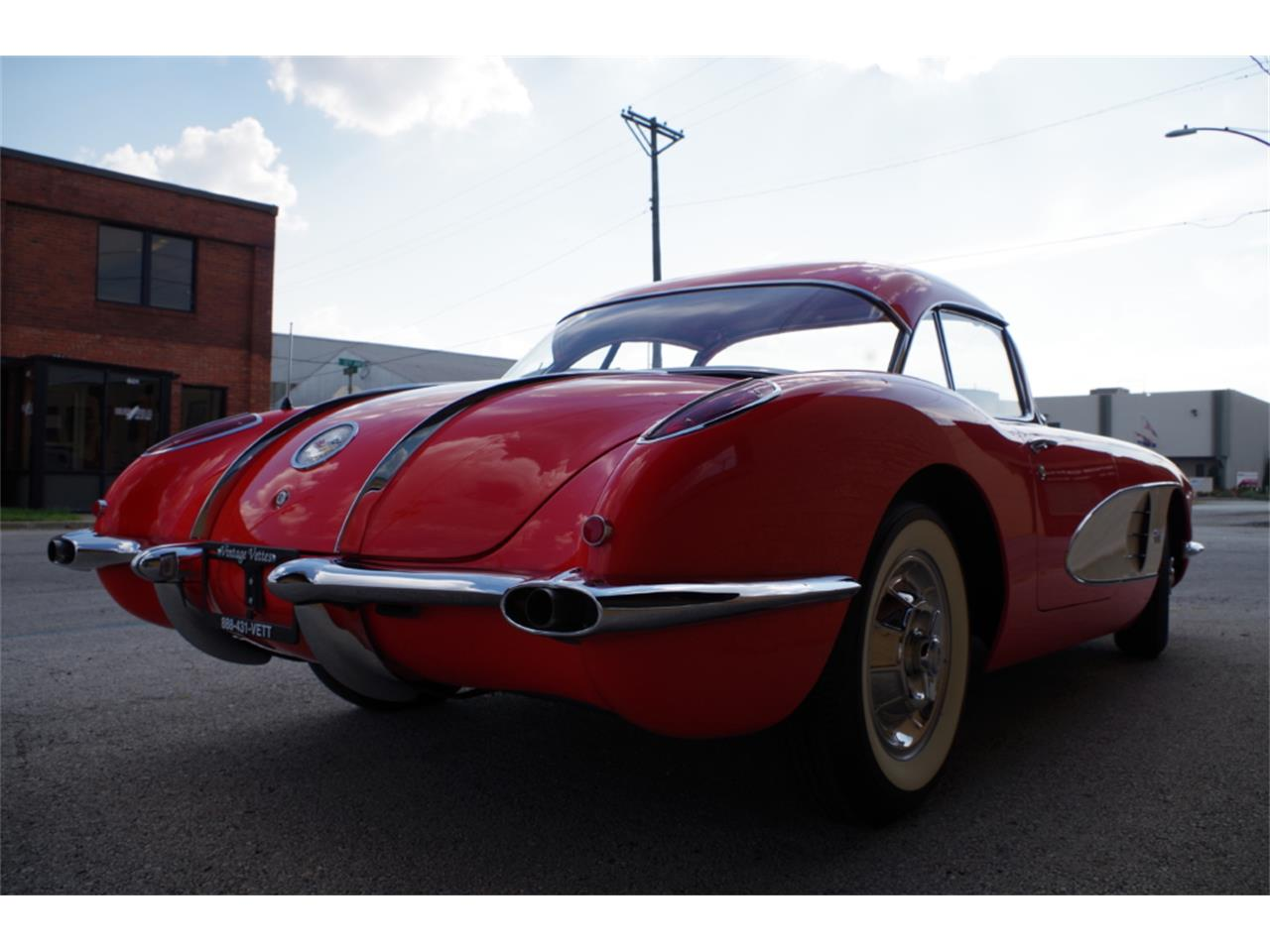 Large Picture of 1958 Corvette located in N. Kansas City Missouri - R23F