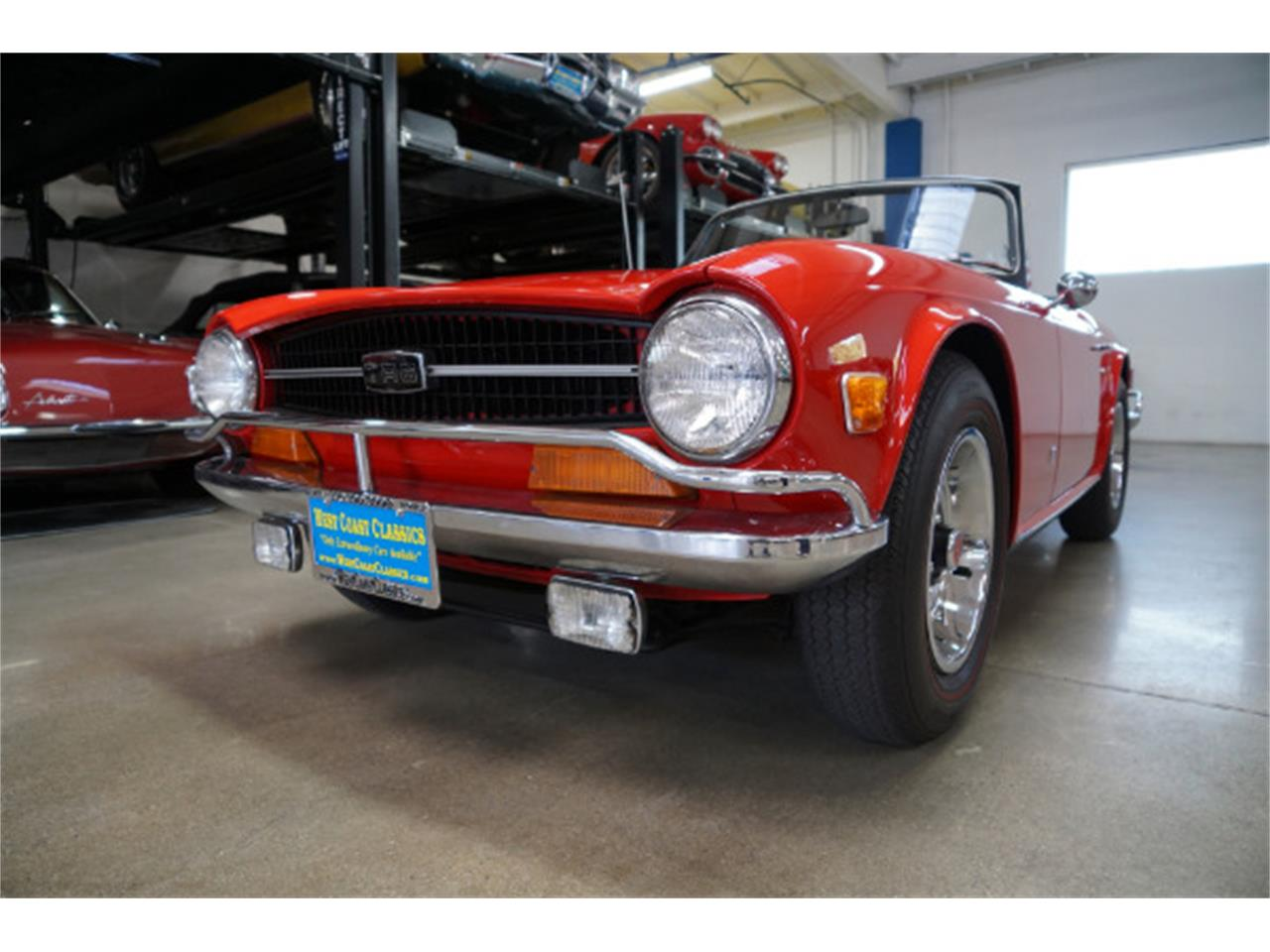 Large Picture of '72 TR6 - R23N