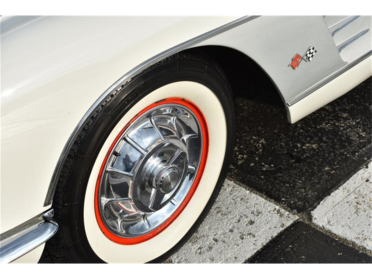 Large Picture of '58 Chevrolet Corvette located in Springfield Ohio - $79,900.00 Offered by Mershon's - R23O