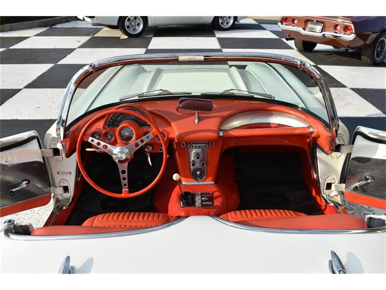 Large Picture of Classic 1958 Corvette Offered by Mershon's - R23O