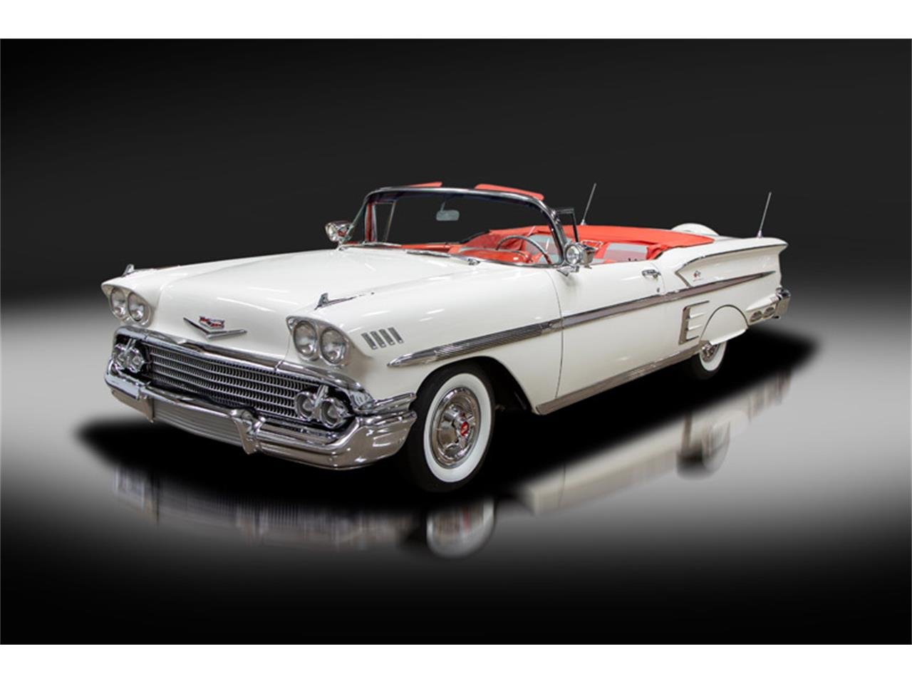 Large Picture of '58 Chevrolet Impala Auction Vehicle - R275