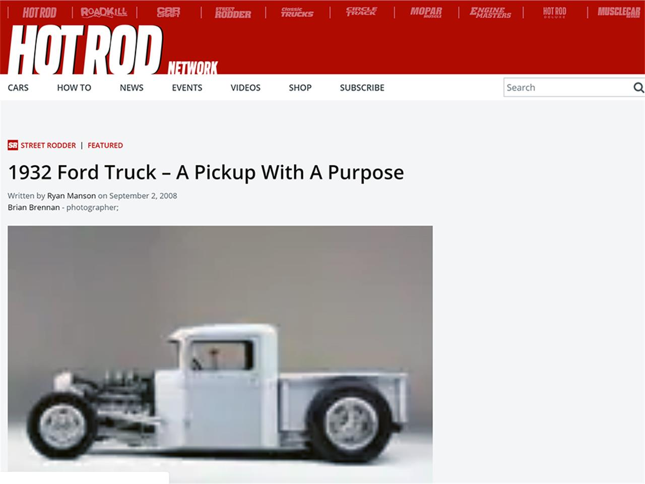 Large Picture of Classic 1932 Pickup - R29Y