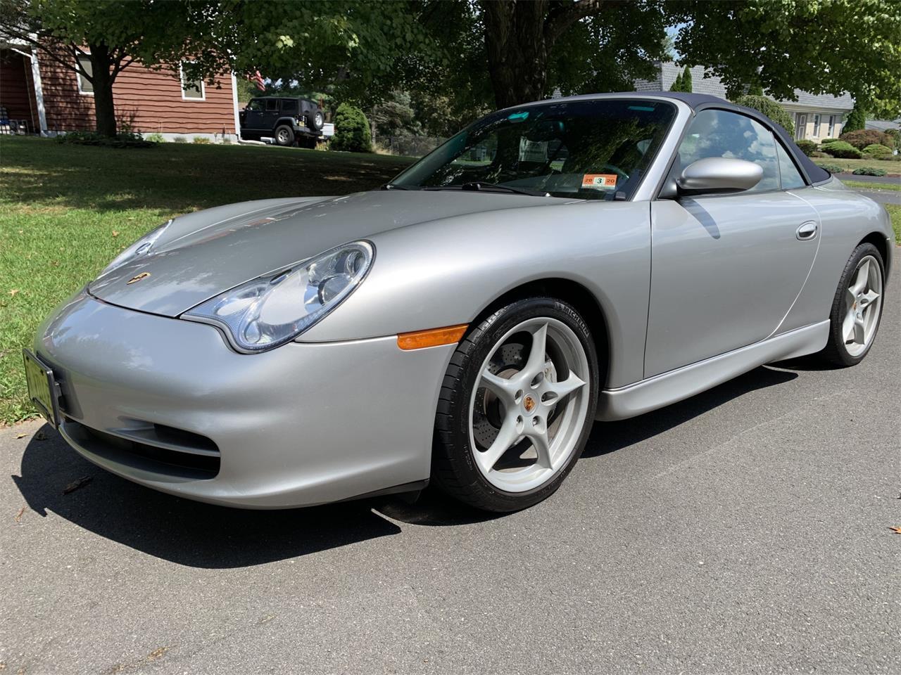 2003 Porsche 911 Carrera 4 Cabriolet For Sale Classiccars
