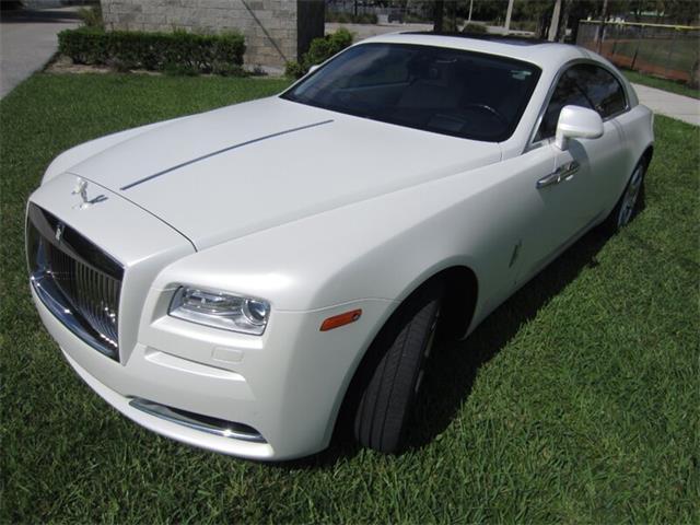 2014 Rolls-Royce Silver Wraith