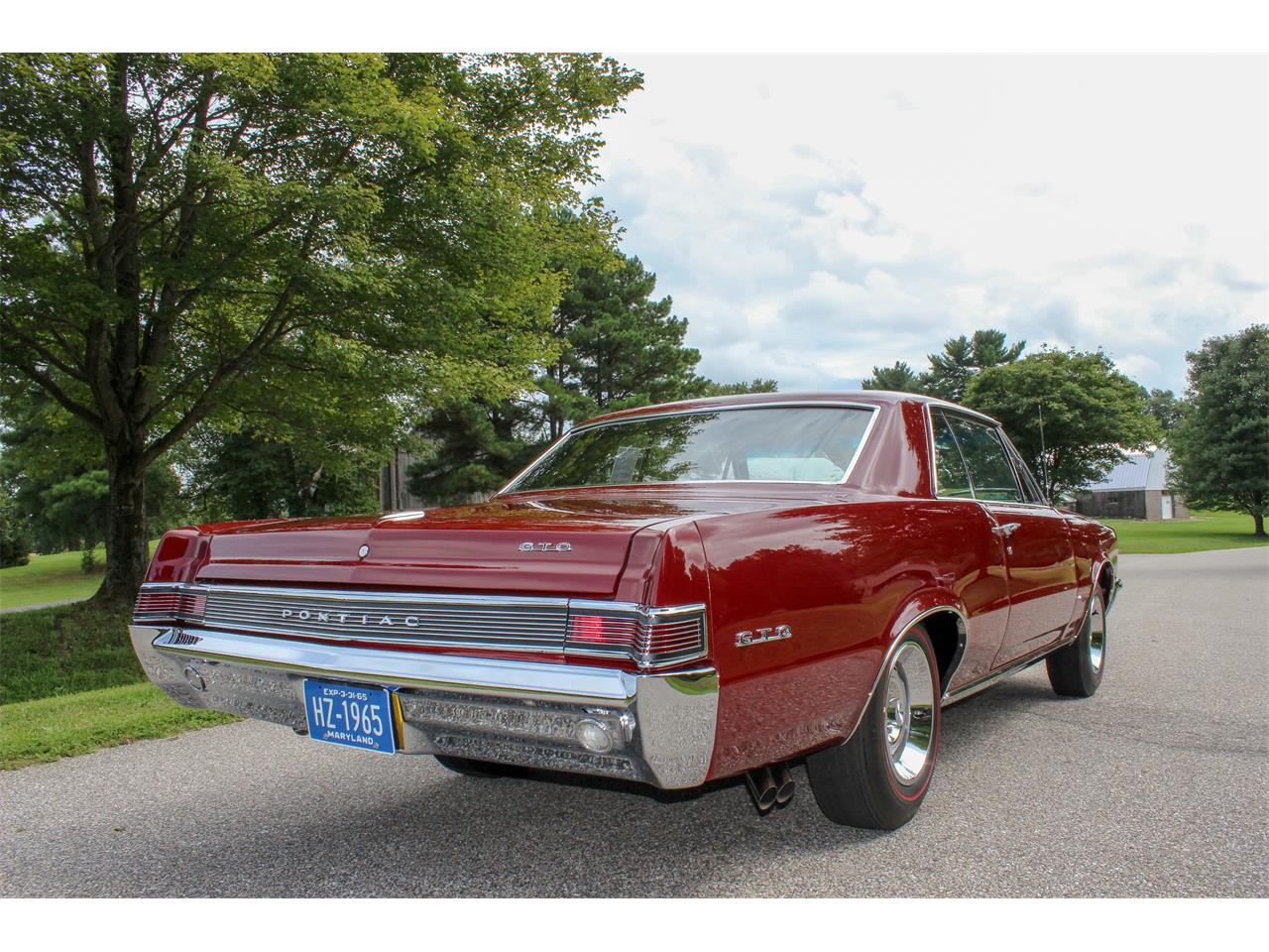 Large Picture of '65 Pontiac GTO located in Maryland Offered by a Private Seller - R2KD