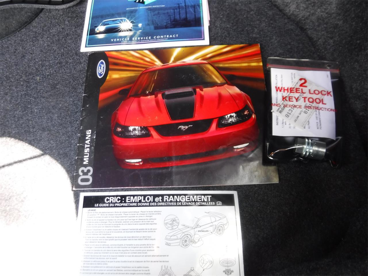 Large Picture of '03 Mustang Mach 1 - R2KJ
