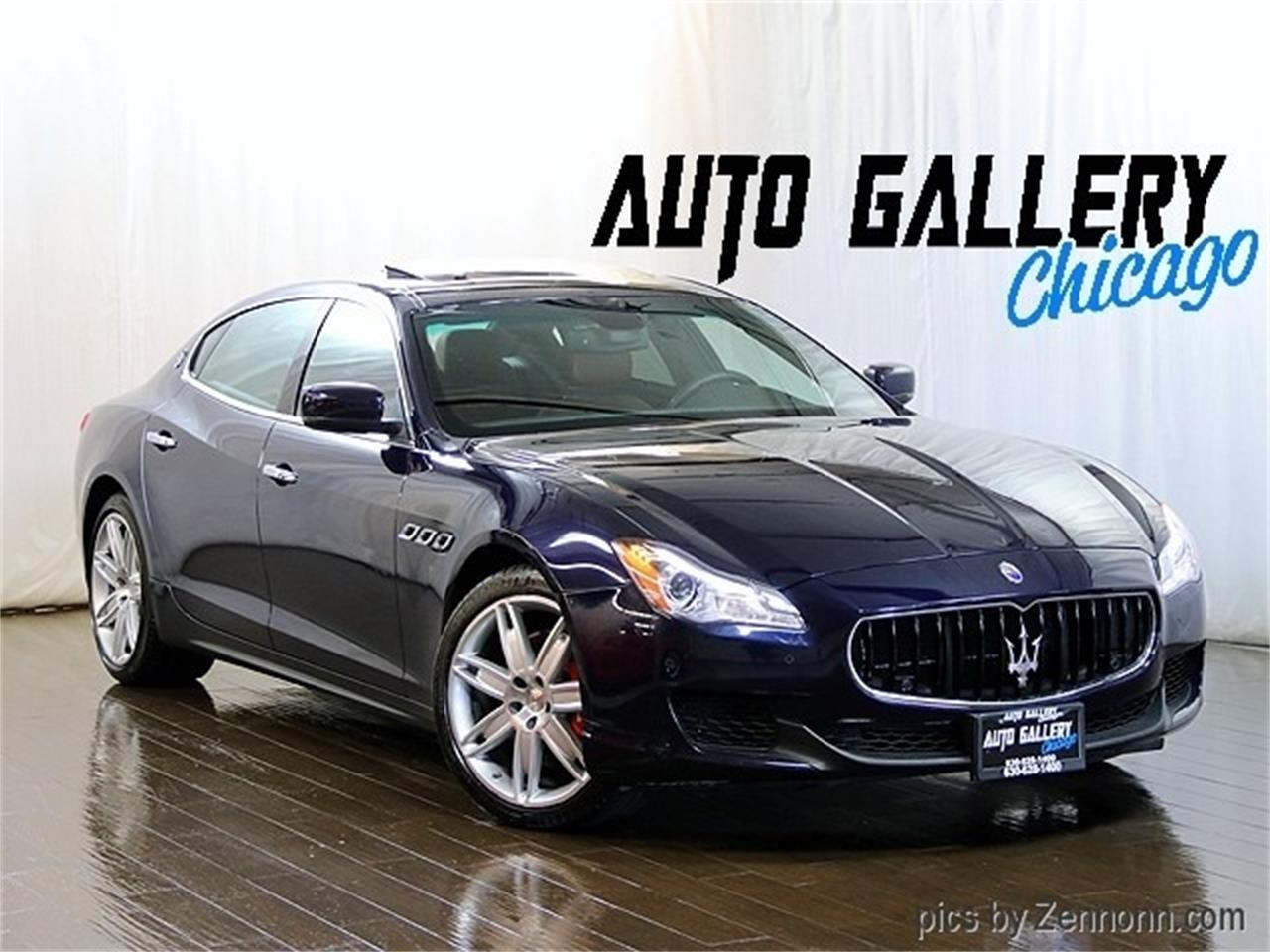 Large Picture of '16 Maserati Quattroporte located in Addison Illinois - $36,990.00 - R2Q9