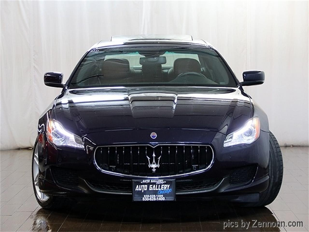 Large Picture of '16 Maserati Quattroporte located in Addison Illinois - R2Q9