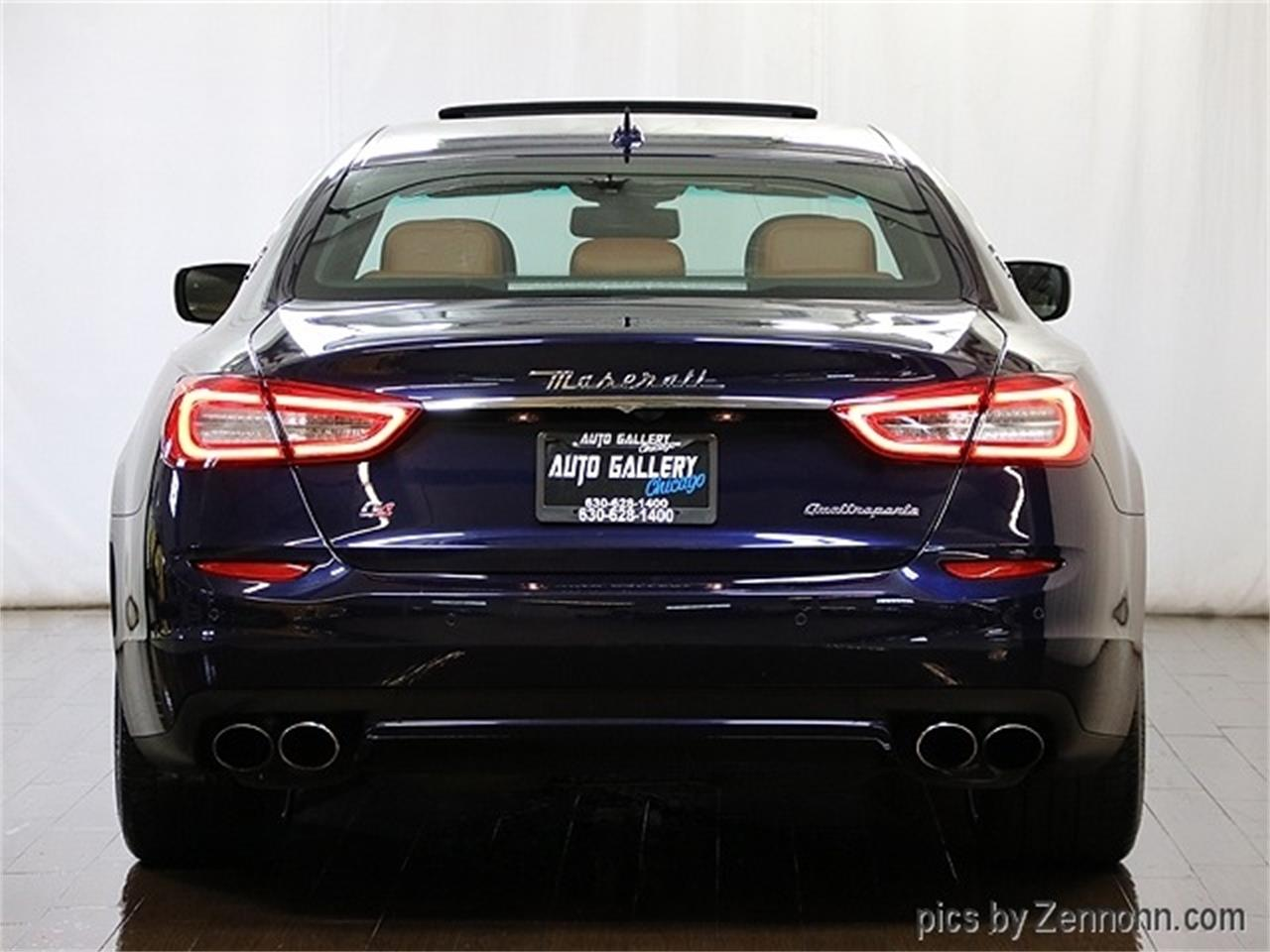 Large Picture of '16 Maserati Quattroporte located in Illinois - $36,990.00 Offered by Auto Gallery Chicago - R2Q9