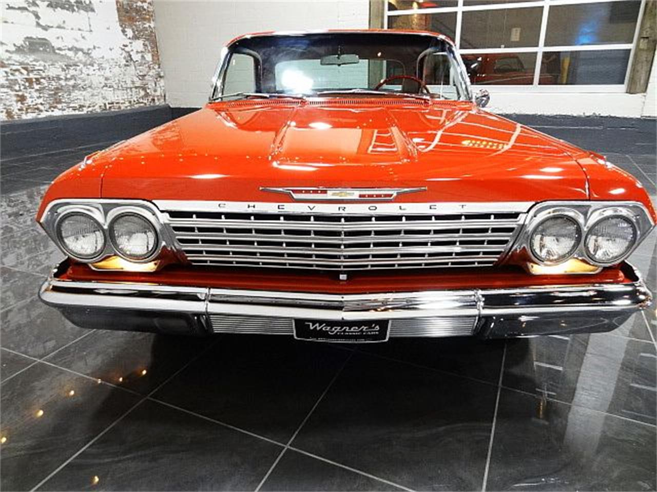 Large Picture of '62 Chevrolet Impala located in Bonner Springs Kansas - $54,000.00 Offered by Wagners Classic Cars - R2UP