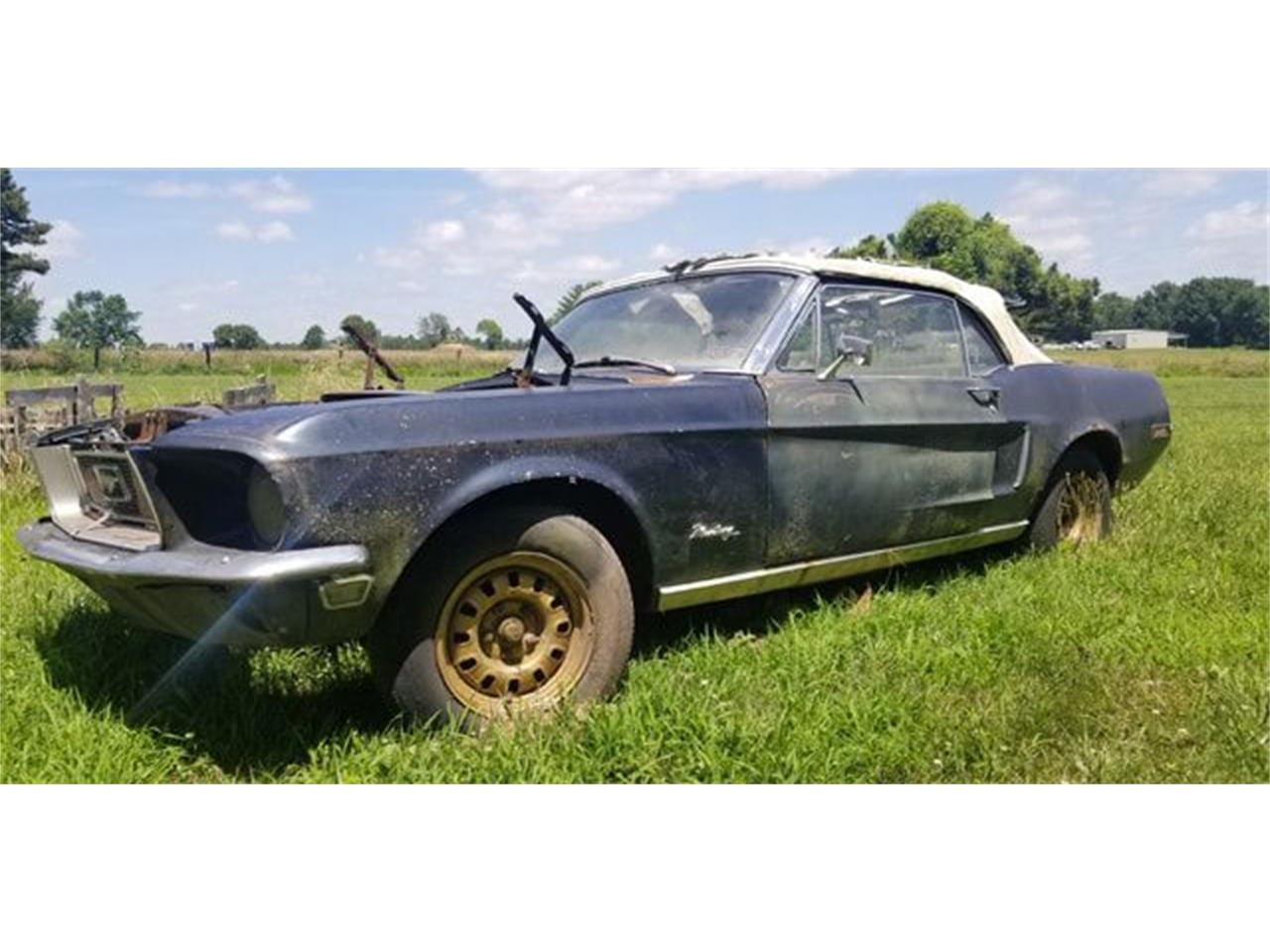 Large Picture of '68 Mustang - R0IZ
