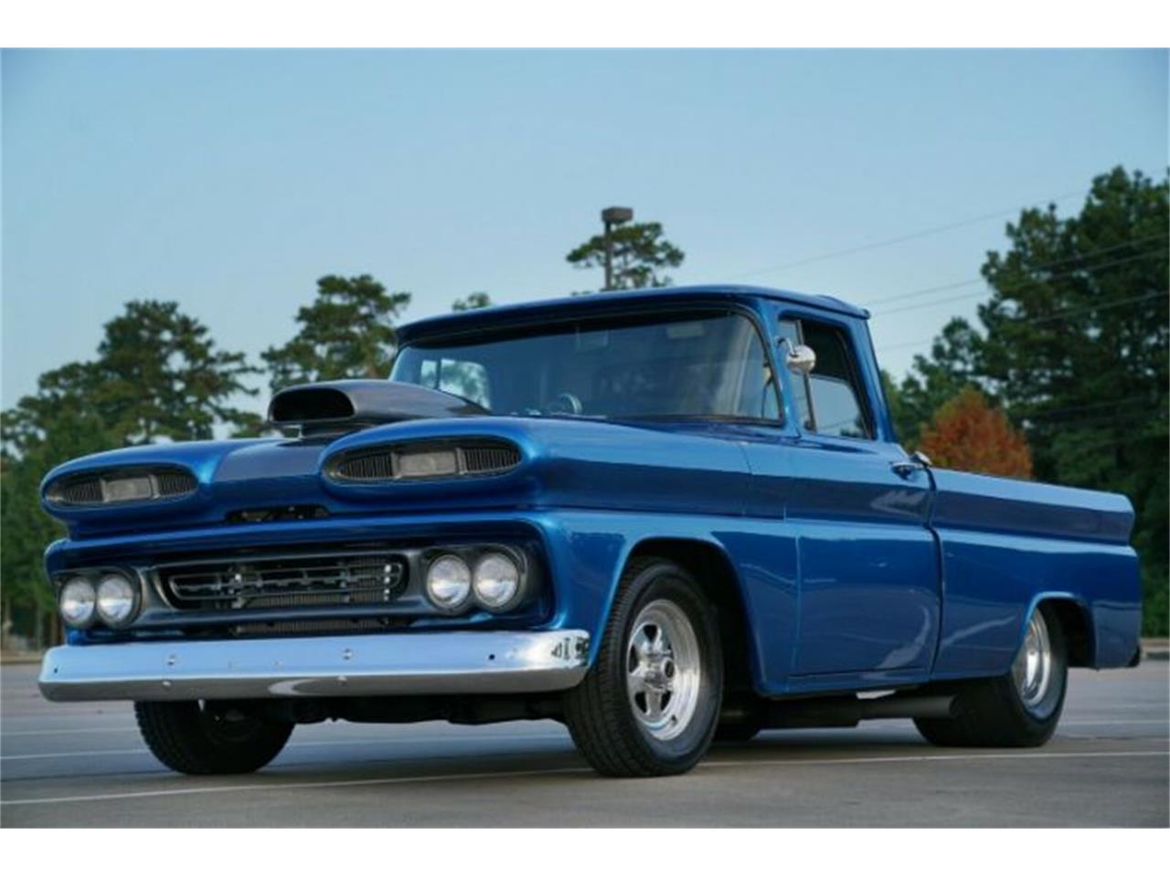 Large Picture of Classic '61 C10 located in Cadillac Michigan - R0XD