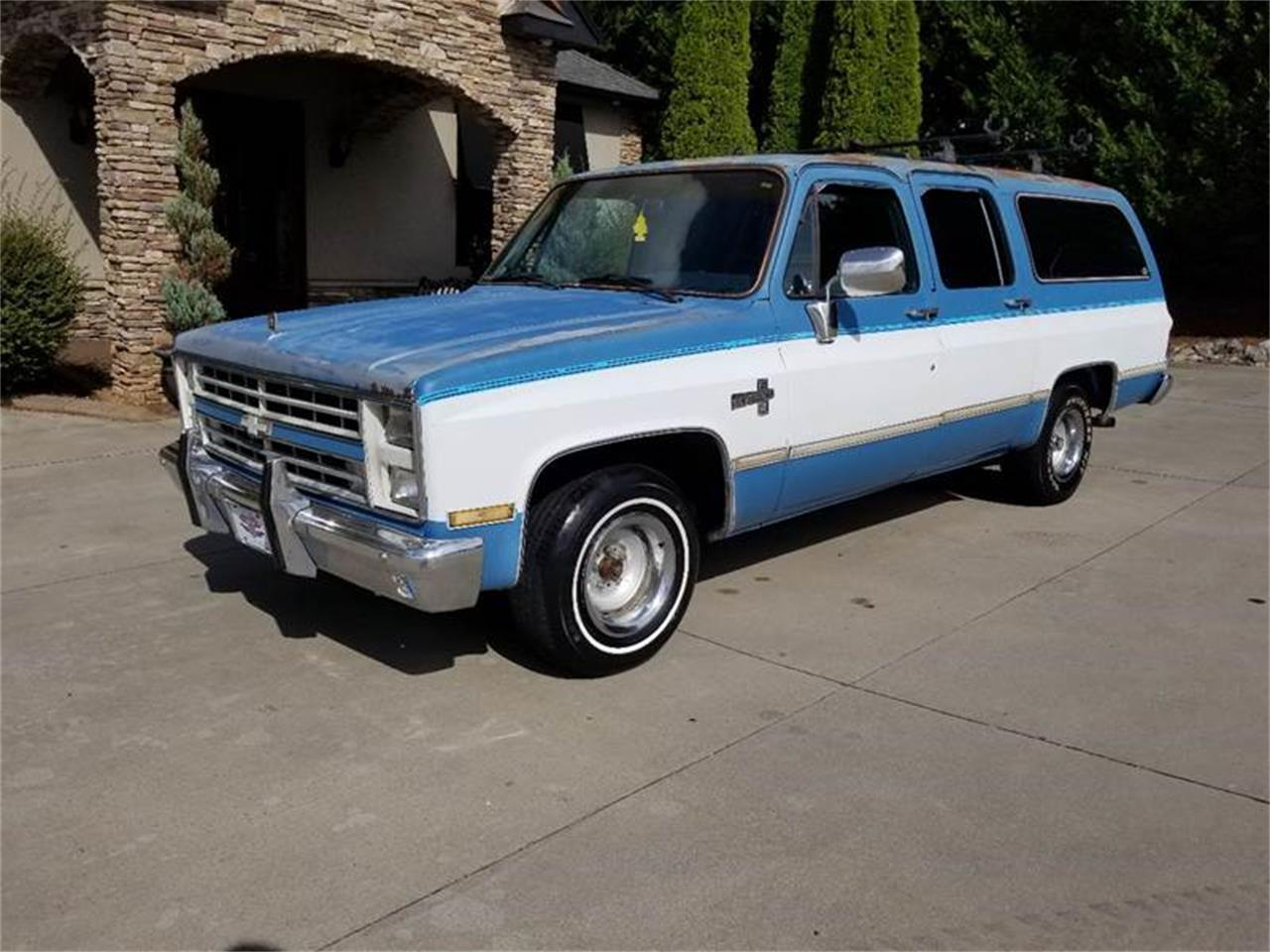 Large Picture of '86 Suburban - R8XR