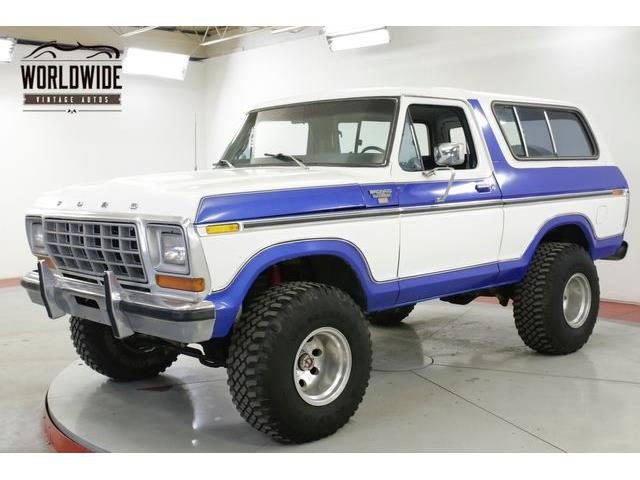 Picture of 1978 Bronco - $16,900.00 Offered by  - R91A