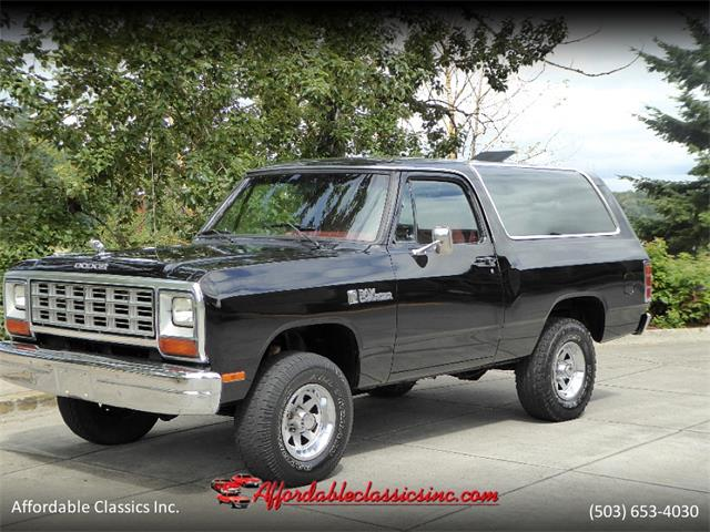 Picture of '85 Dodge Ramcharger - R9DE