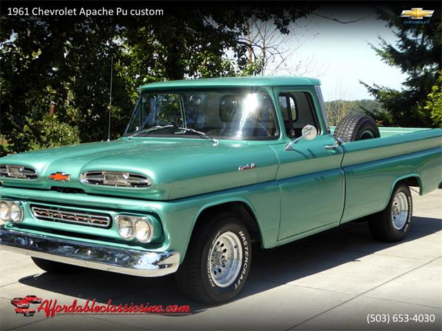 Picture of Classic '61 Chevrolet Apache located in Gladstone Oregon Offered by  - R9JE
