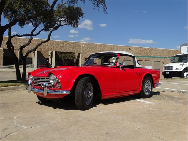 Picture of '62 TR4 - R85A