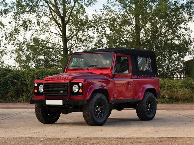Picture of '13 Defender located in Hammersmith London Auction Vehicle - RALT