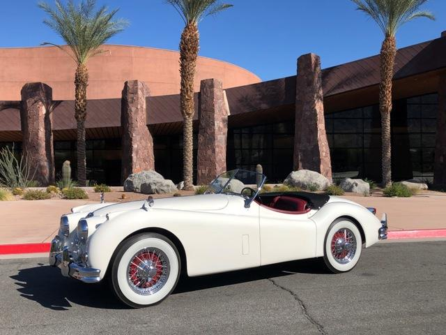 Picture of Classic '56 XK140 located in Palm Springs California Offered by  - RB0M