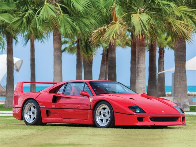 Picture of '90 F40 located in Yas Island Abu Dhabi Offered by  - RB1I