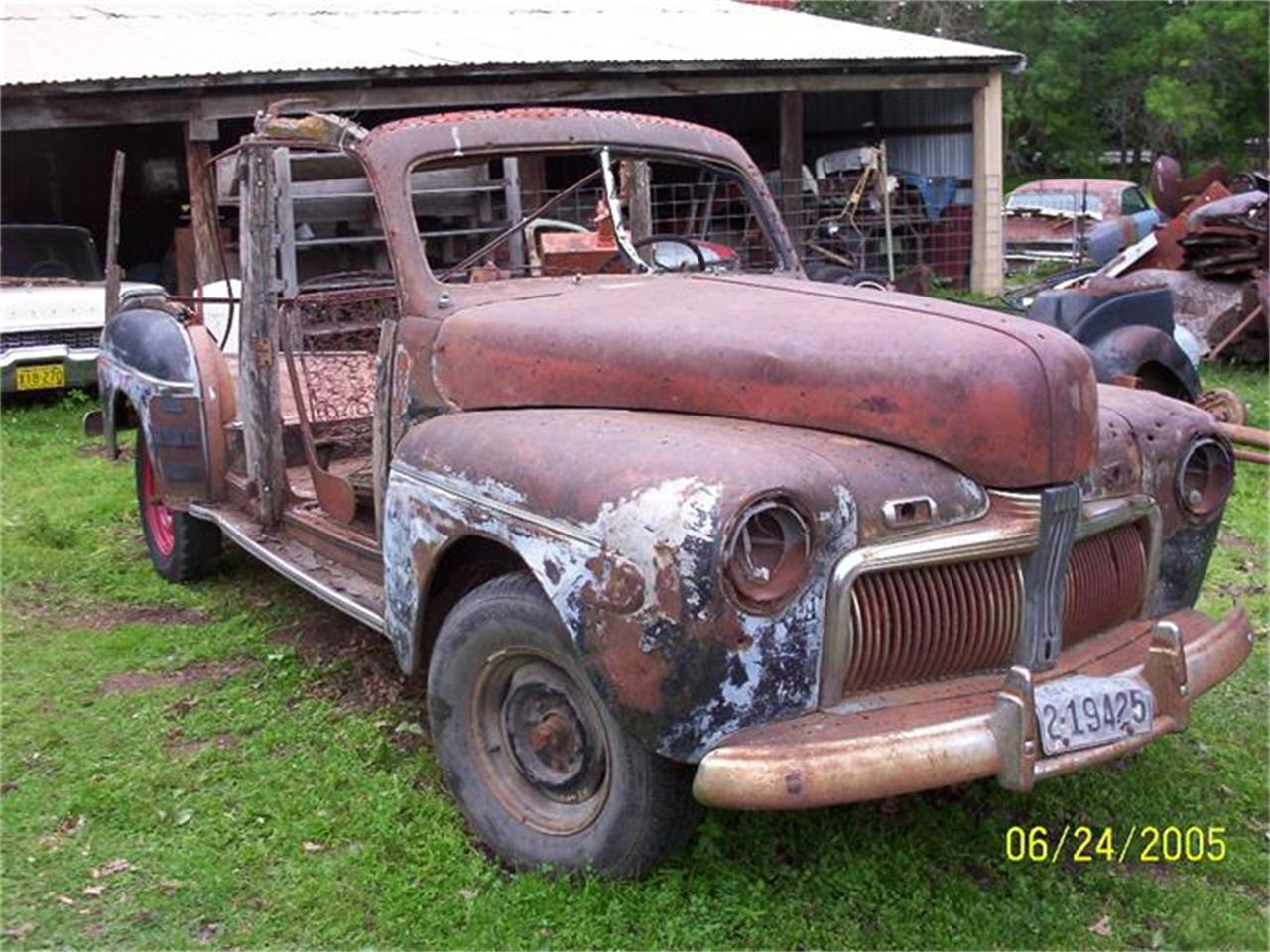 Large Picture of Classic '42 Ford Woody Wagon located in Parkers Prairie Minnesota - $5,000.00 Offered by Dan's Old Cars - 2XZP