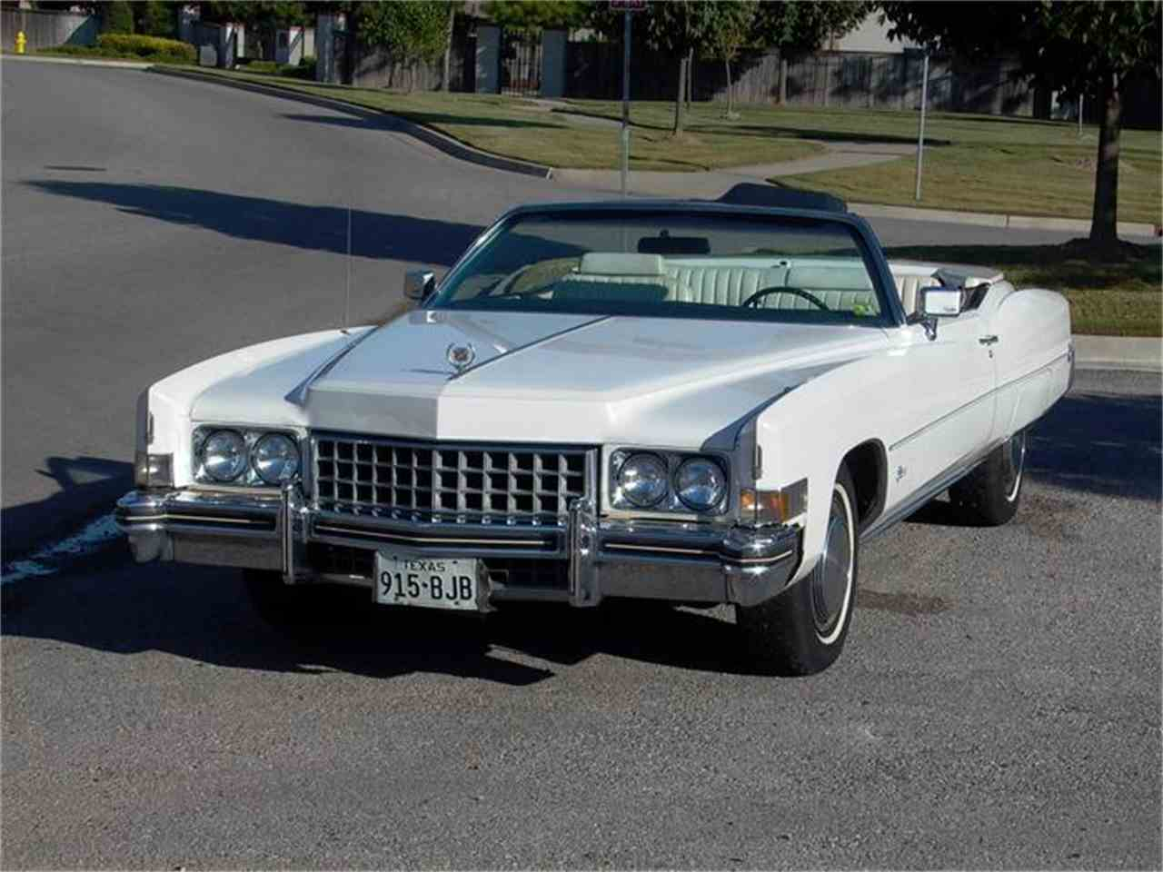 Large Picture of '73 Eldorado - 3E40