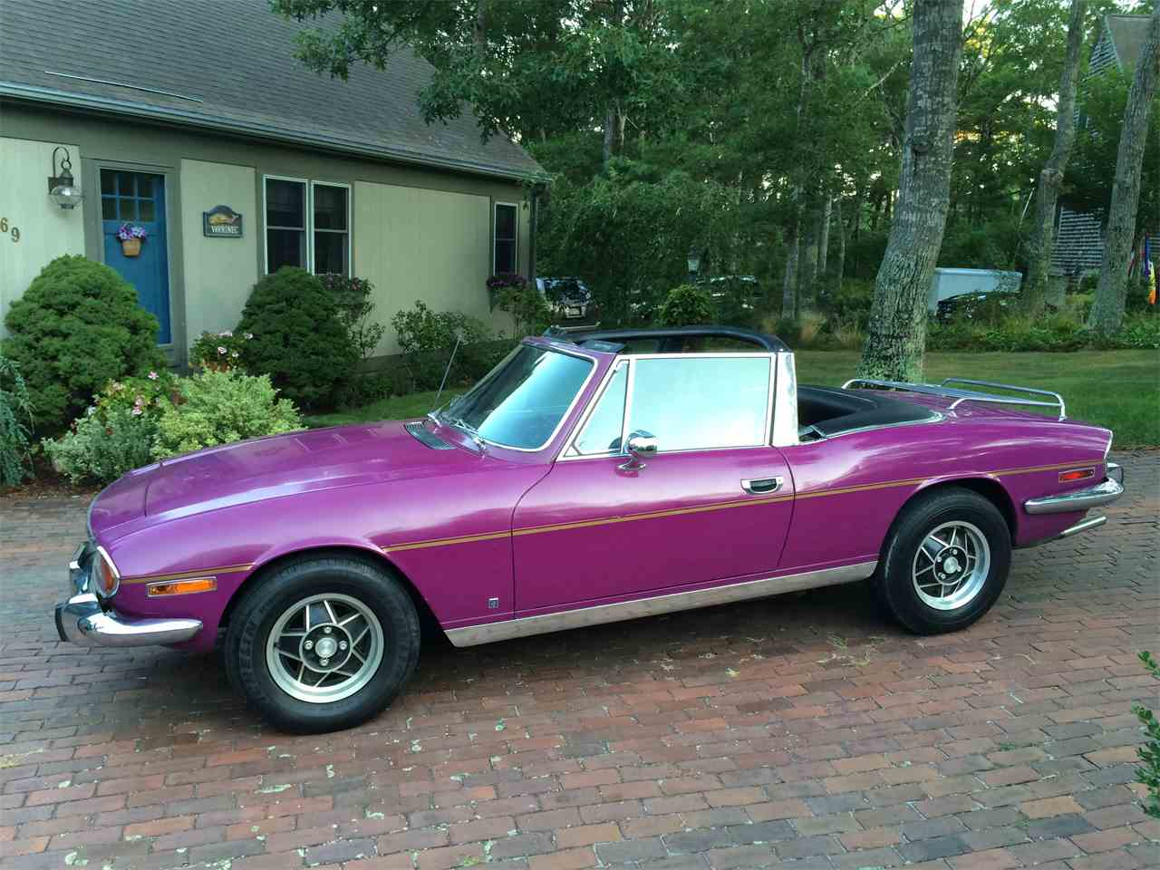 Large Picture of '73 Triumph Stag - 42JF