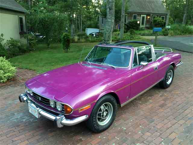 Picture of '73 Triumph Stag located in Dennis Massachusetts - $24,500.00 - 42JF