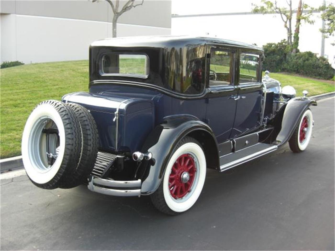 Large Picture of Classic 1929 Cadillac Sedan located in Costa Mesa California - $79,900.00 Offered by Crevier Classic Cars - 4HEP