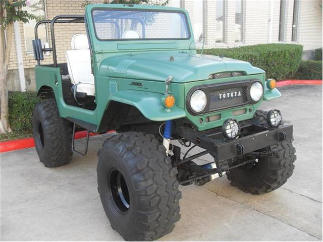 Picture of Classic '65 Toyota FJ Cruiser located in Texas - $24,500.00 - 64WA