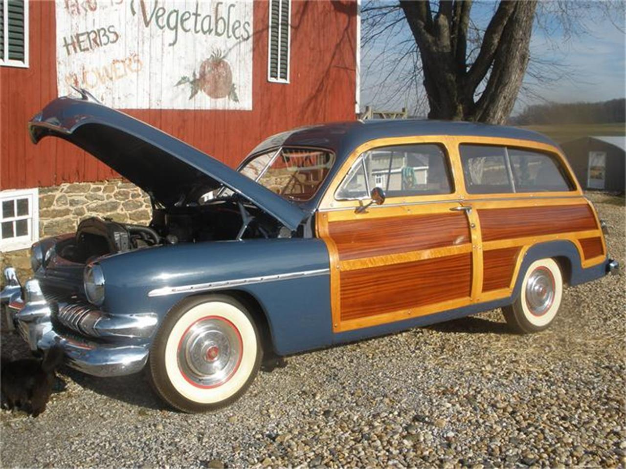 Large Picture of Classic 1951 Woody Wagon Offered by a Private Seller - 687X