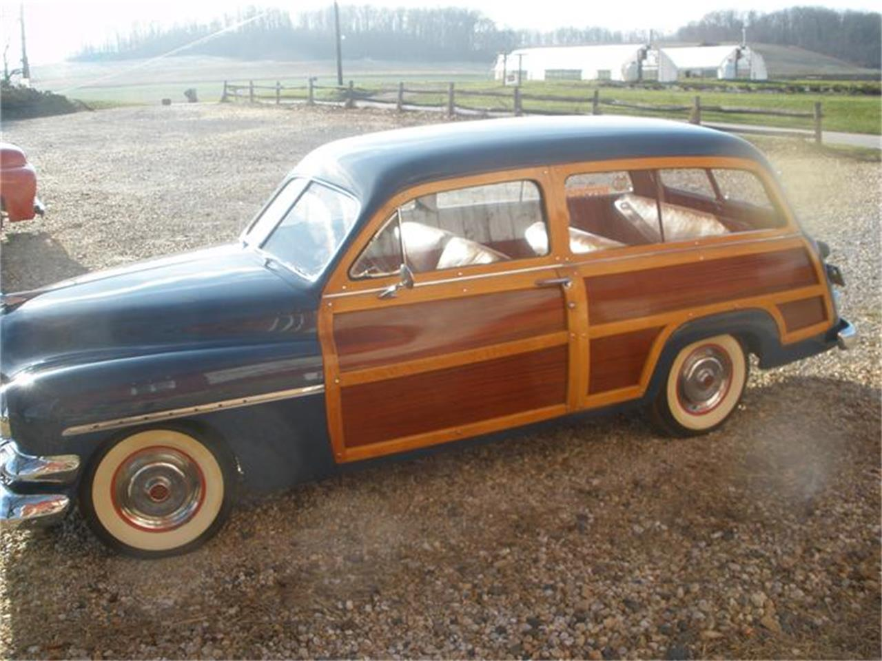 Large Picture of Classic '51 Mercury Woody Wagon located in Glen Rock Pennsylvania - 687X