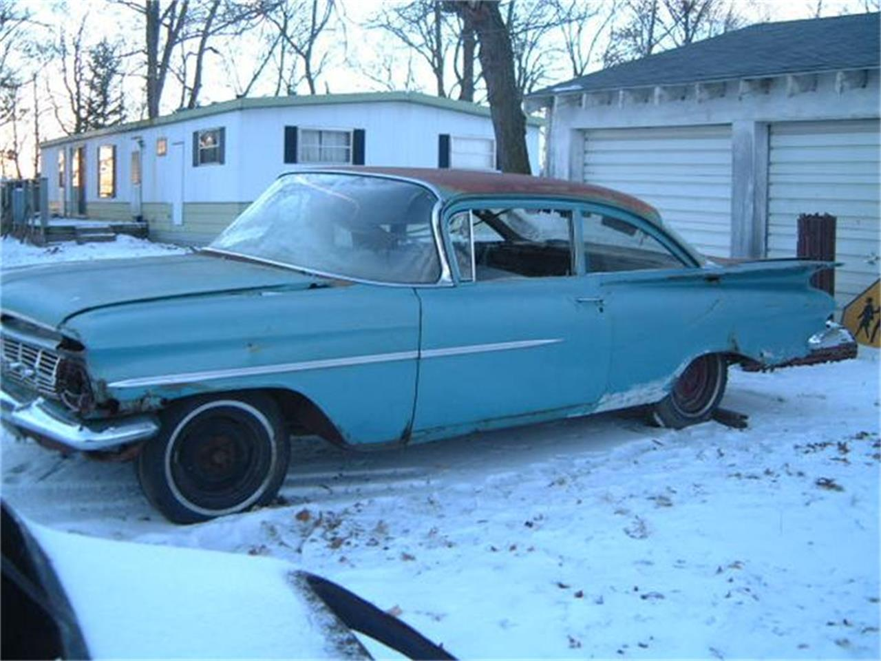 1959 chevrolet biscayne for sale | classiccars | cc-36887
