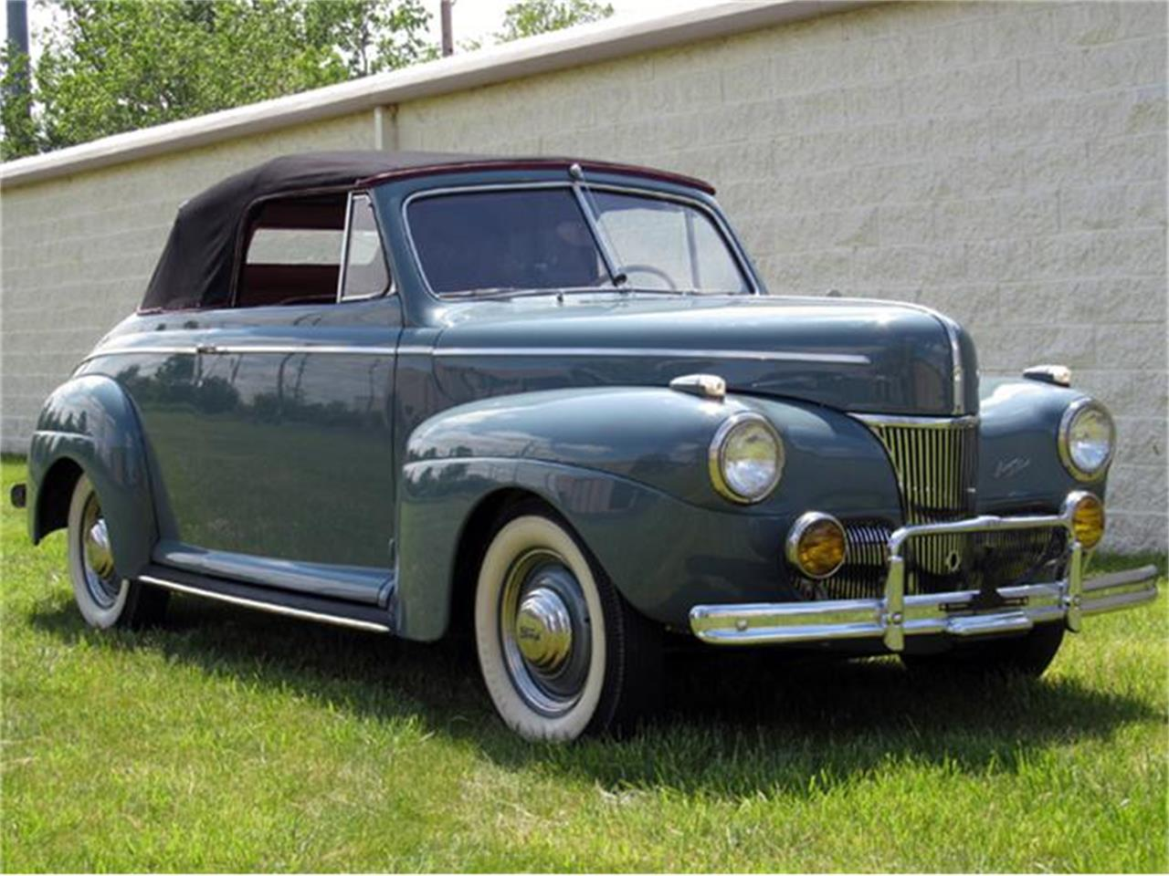 Large Picture of '41 Ford Super Deluxe located in Bedford Heights Ohio - $39,900.00 Offered by Vintage Motor Cars USA - 75W7