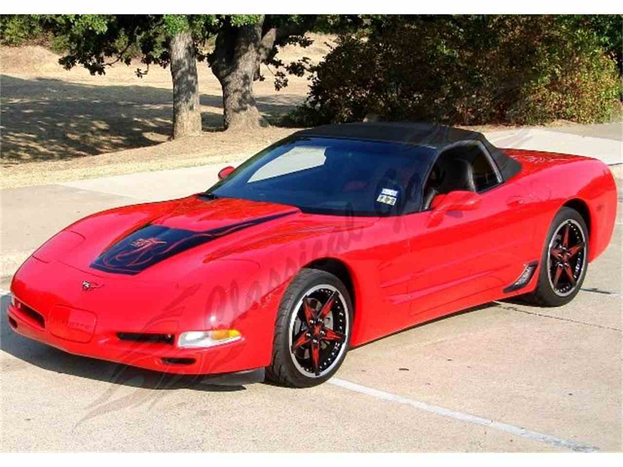 Large Picture of 2002 Chevrolet Corvette located in Texas - $28,900.00 - 7JWA
