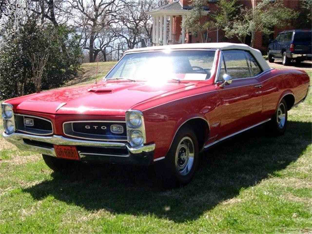 Large Picture of 1966 GTO located in Texas - $80,000.00 Offered by Classical Gas Enterprises - 7JXD