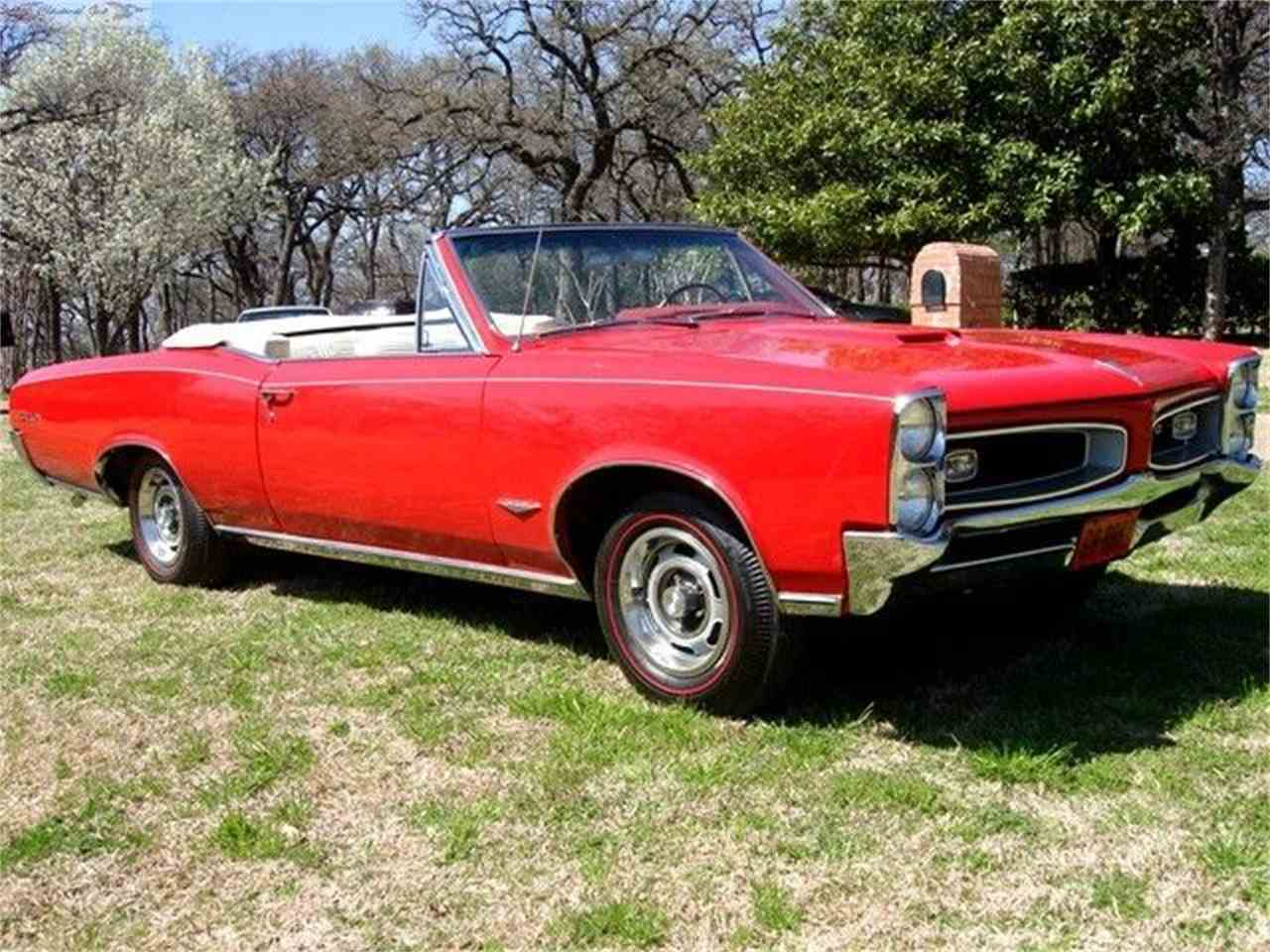 Large Picture of 1966 Pontiac GTO located in Arlington Texas - 7JXD