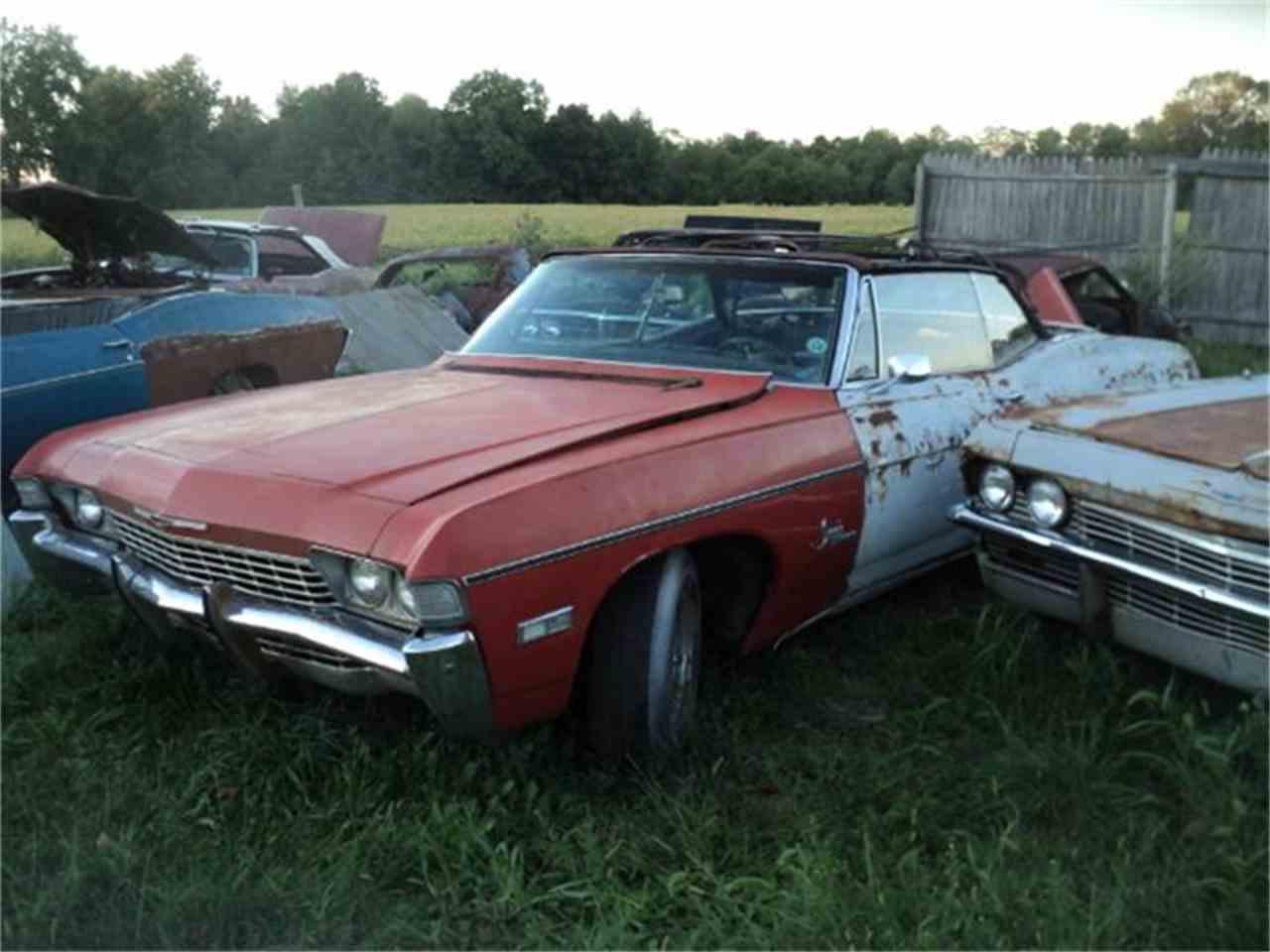 Large Picture of 1968 Chevrolet Impala located in Ohio - $1,500.00 - 7P9E