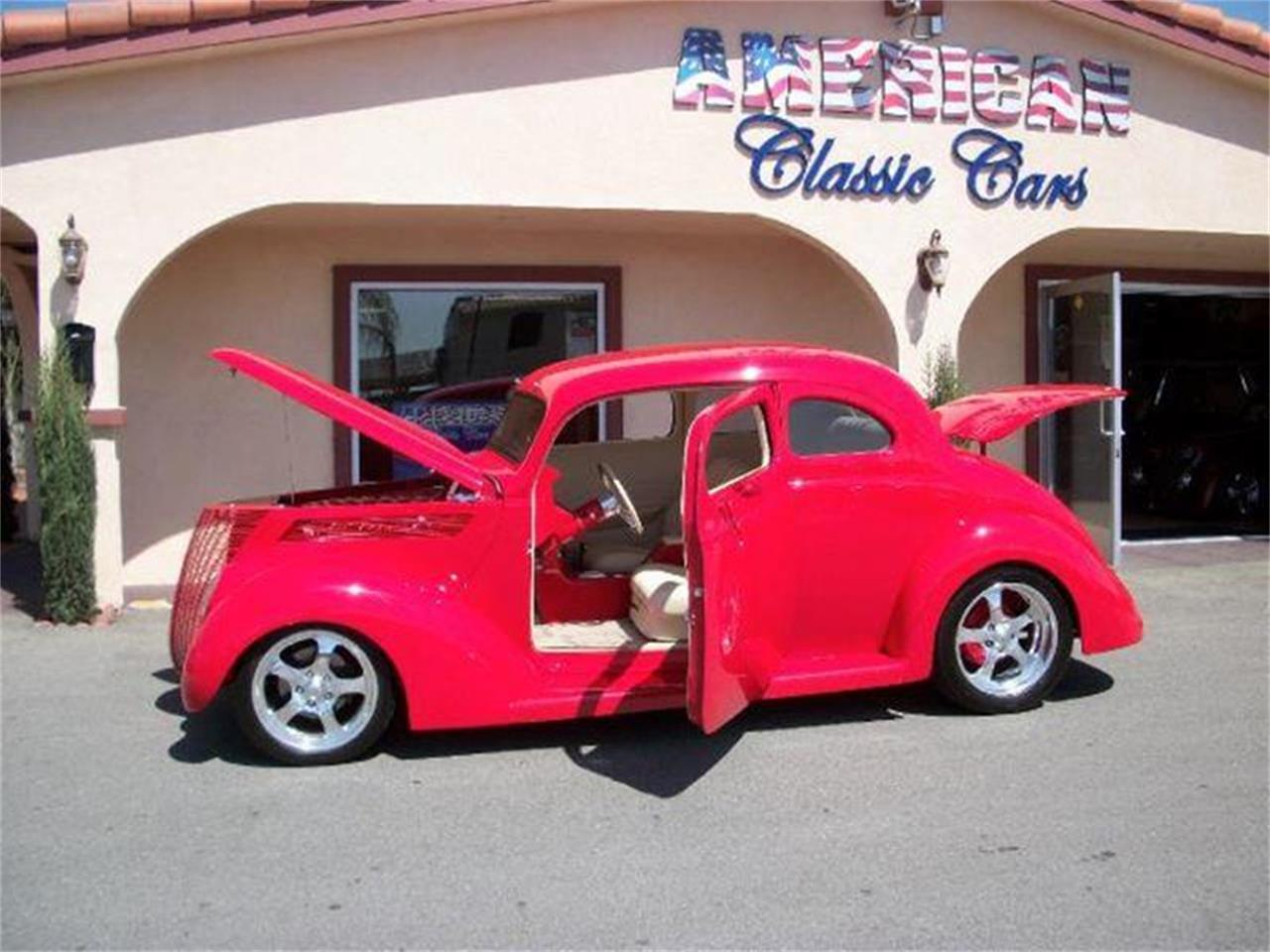 Large Picture of Classic 1937 Ford Club Coupe located in La Verne California Offered by American Classic Cars - 7UFQ