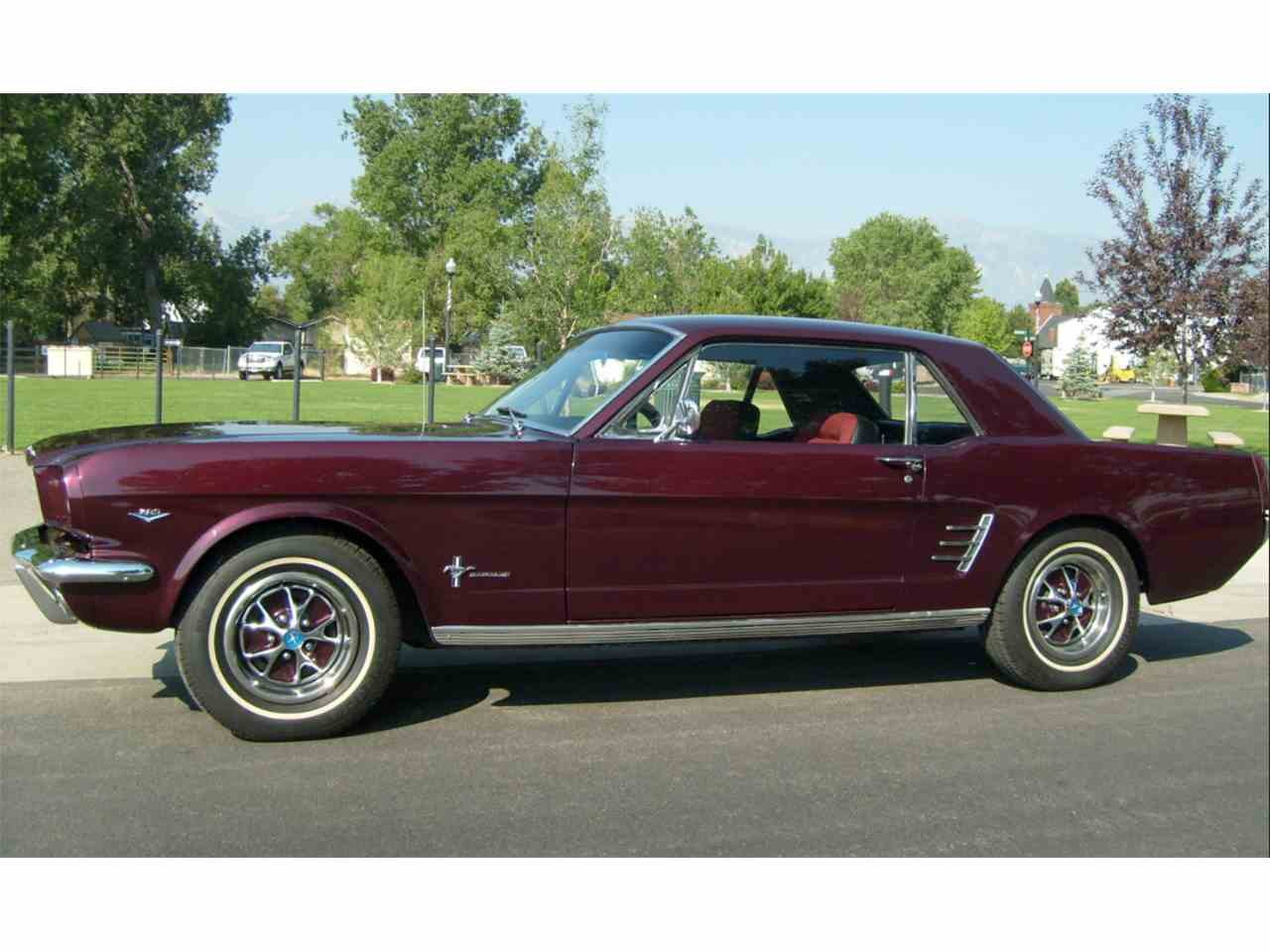 Large Picture of '66 Mustang - 7YTX