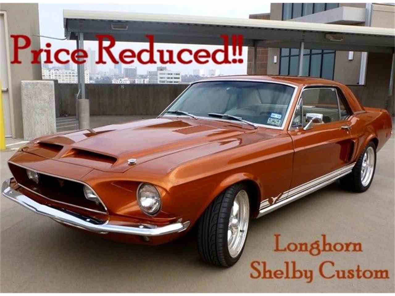 1968 ford mustang longhorn shelby custom for sale cc 395163. Black Bedroom Furniture Sets. Home Design Ideas