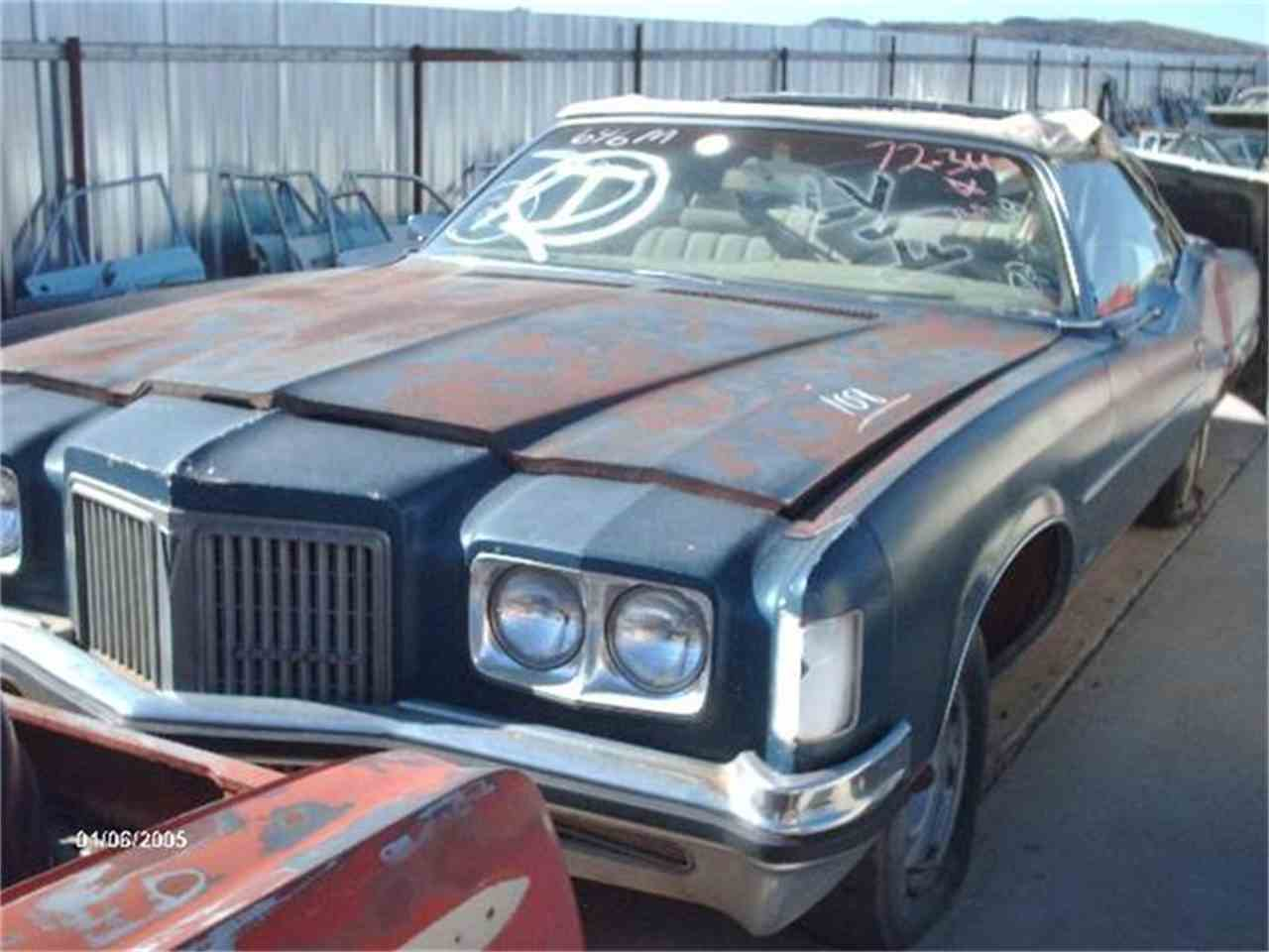 Large Picture of 1972 Pontiac Grand Ville - $3,500.00 Offered by Desert Valley Auto Parts - 8IAW