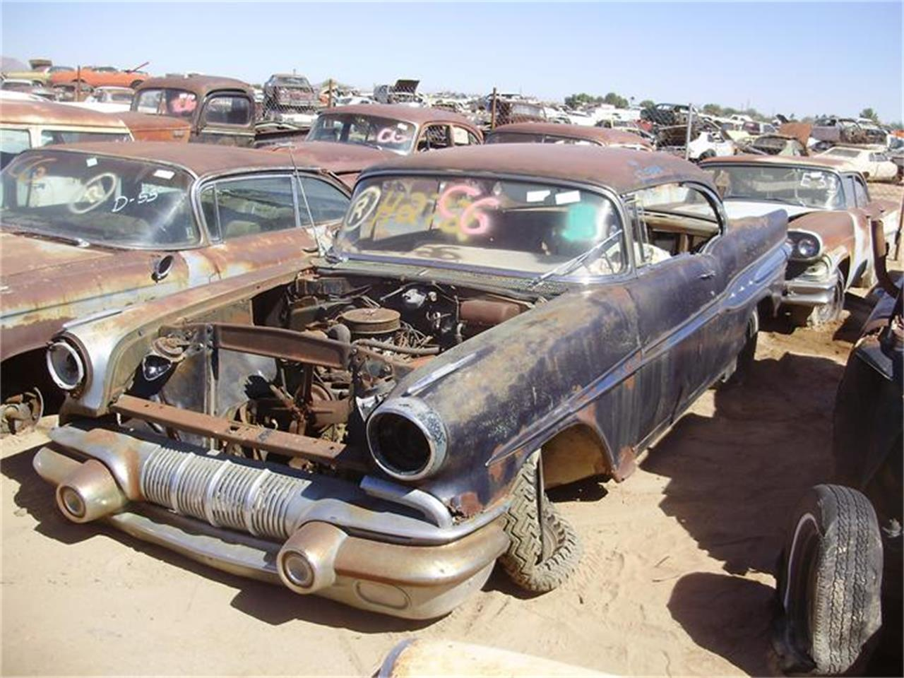 Large Picture of 1957 Catalina located in Arizona - $2,500.00 Offered by Desert Valley Auto Parts - 8IDW
