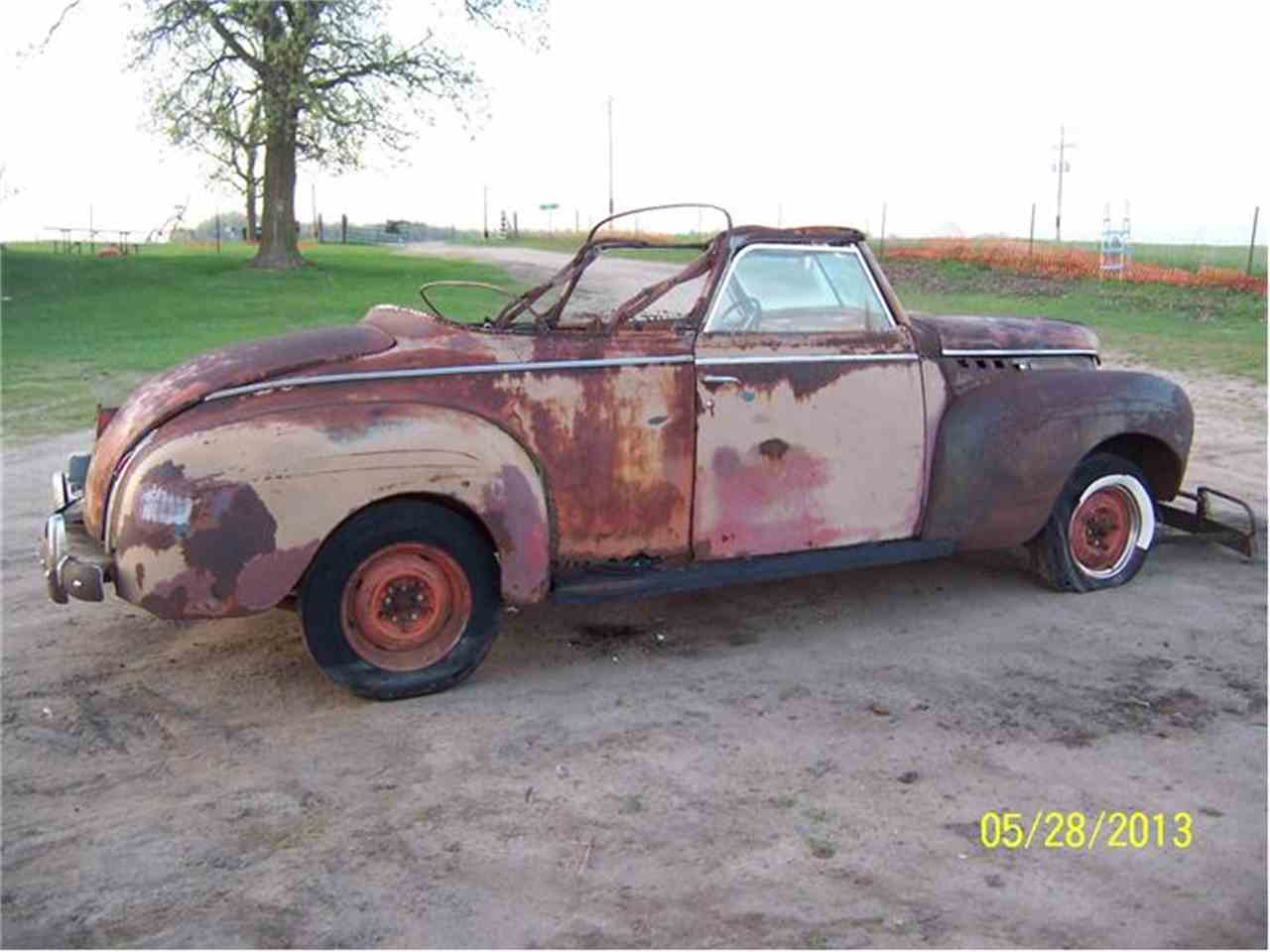 Large Picture of '40 Convertible - 9245