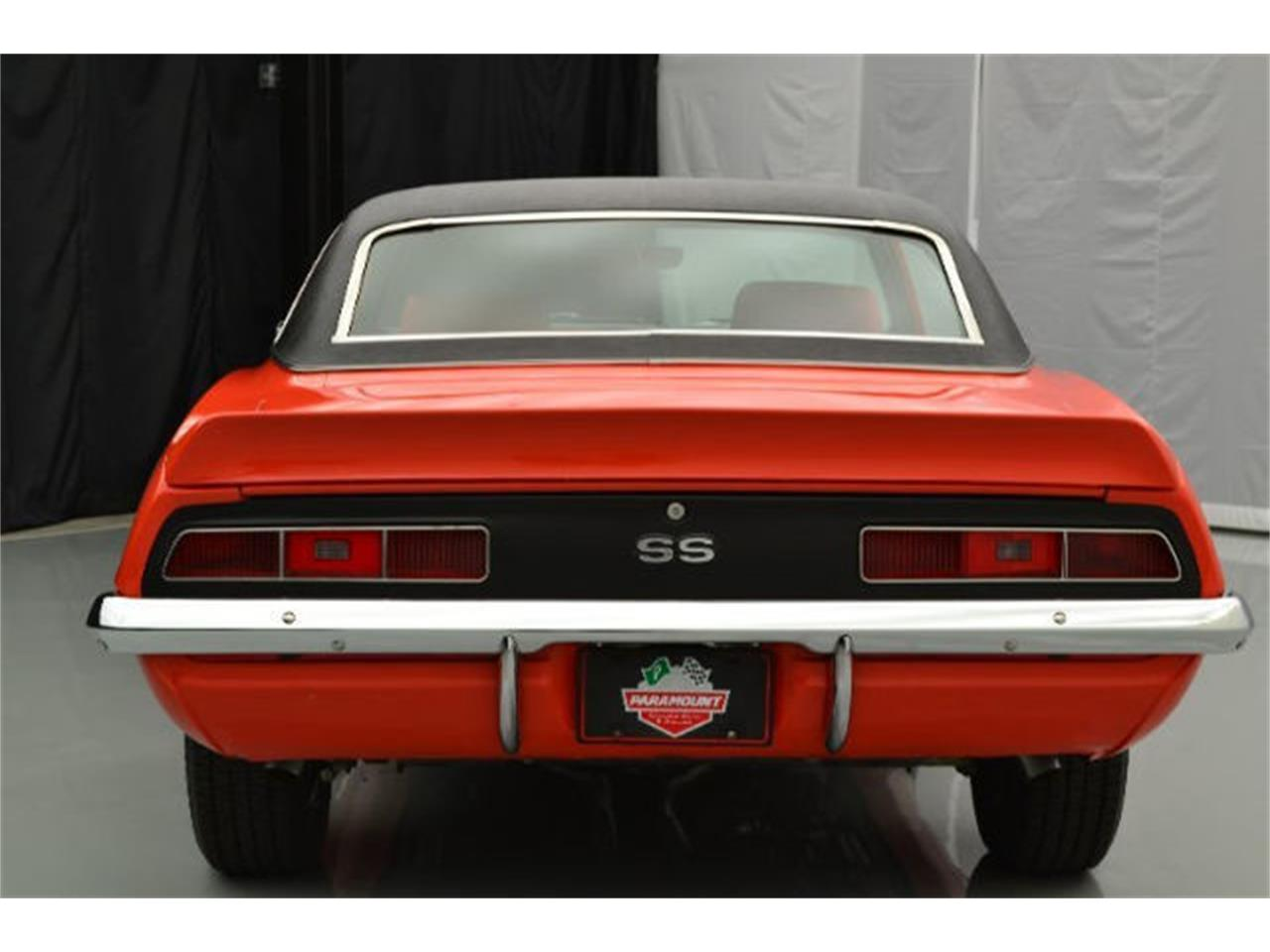 Large Picture of '69 Chevrolet Camaro located in Hickory North Carolina - $58,900.00 Offered by Paramount Classic Car Store - 92DQ