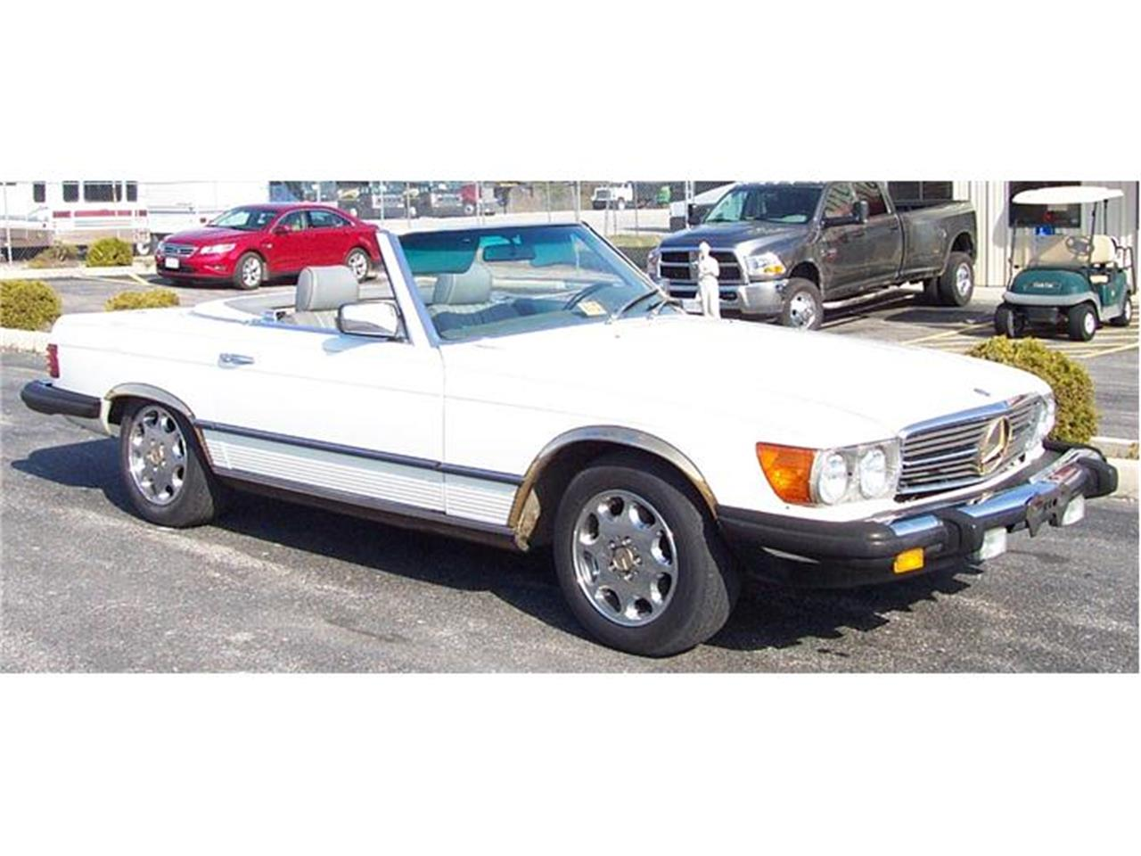 Large Picture of '83 Mercedes-Benz 380SL located in Virginia Offered by a Private Seller - 92IP