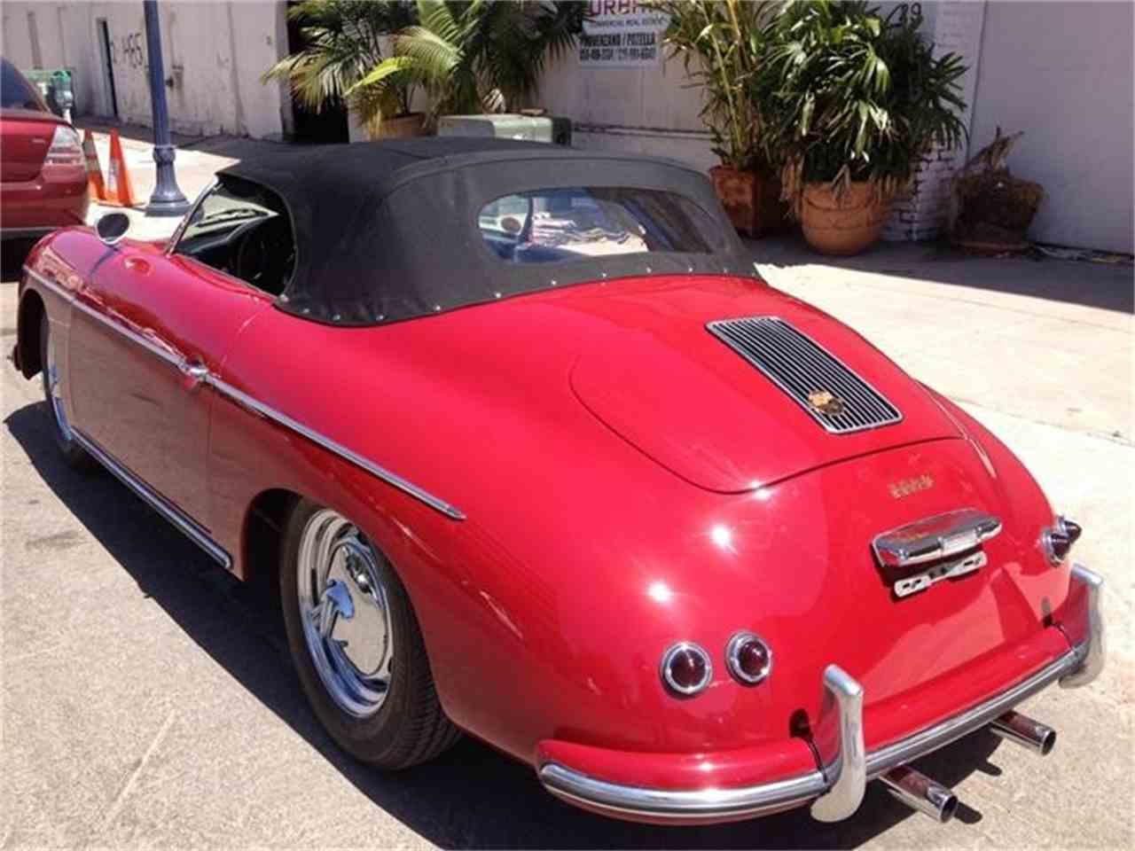 1957 porsche speedster for sale cc 425930. Black Bedroom Furniture Sets. Home Design Ideas
